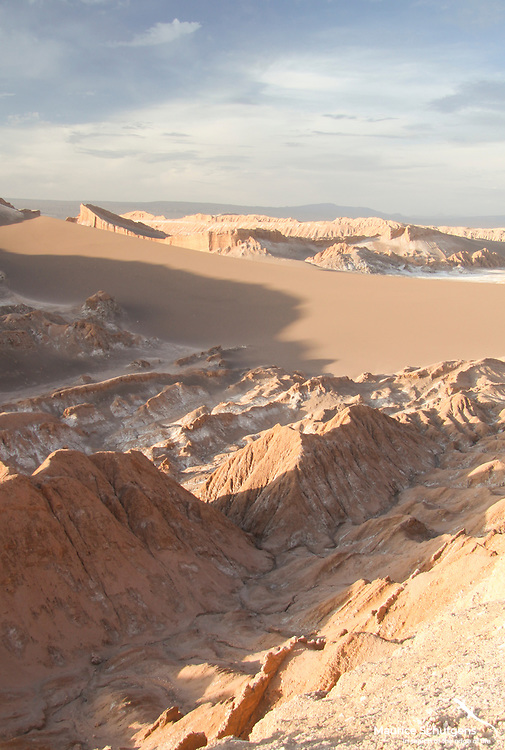 The silent Valle de la Luna (Moon Valley) in Chile.