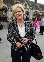 © Licensed to London News Pictures. 29/06/2016. London, UK. Minister of State for Small Business, Industry and Enterprise ANNA SOUBRY MP seen outside the Houses of Parliament in Westminster, London on June 29, 2016. Photo credit: Ben Cawthra/LNP