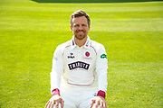 County Championship kit portrait of James Hildreth during the Somerset County Cricket Club PhotoCall 2017 at the Cooper Associates County Ground, Taunton, United Kingdom on 5 April 2017. Photo by Graham Hunt.