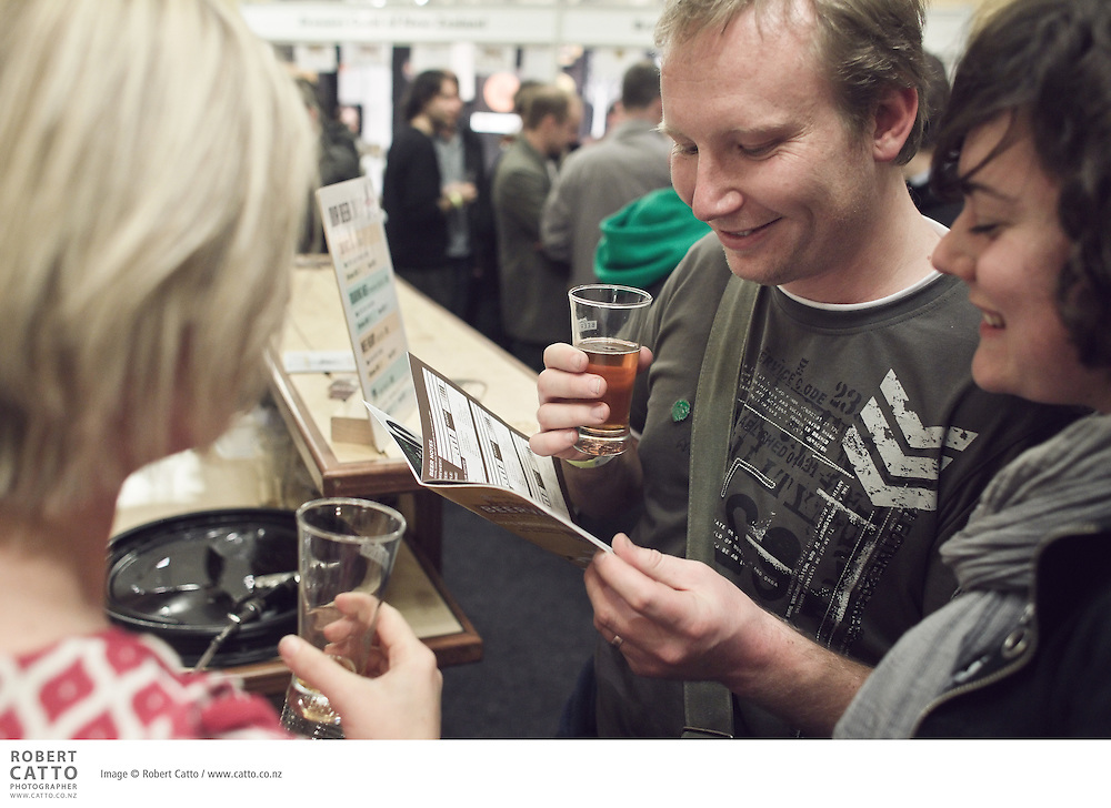 New World Beervana hit Wellington for a celebration of the craft of brewing at the Wellington Town Hall, an opportunity to rub shoulders with 45 plus premium Craft Brewers in one room, with tastings of up to 175 different beers.  Seminars featured international guests - world famous brewer Sam Calagione (US), Beer Diva Kirrily Waldhorn (Australia) and the Malt Master Thomas Weyermann (Germany).