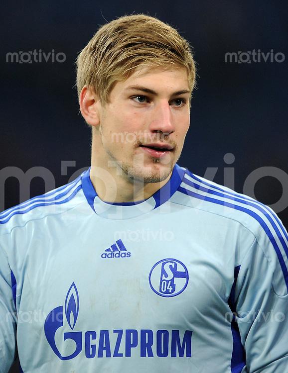 FUSSBALL   1. BUNDESLIGA   SAISON 2011/2012    15. SPIELTAG FC Schalke 04 - FC Augsburg            04.12.2011 Torwart Ralf Faehrmann (FC Schalke 04)