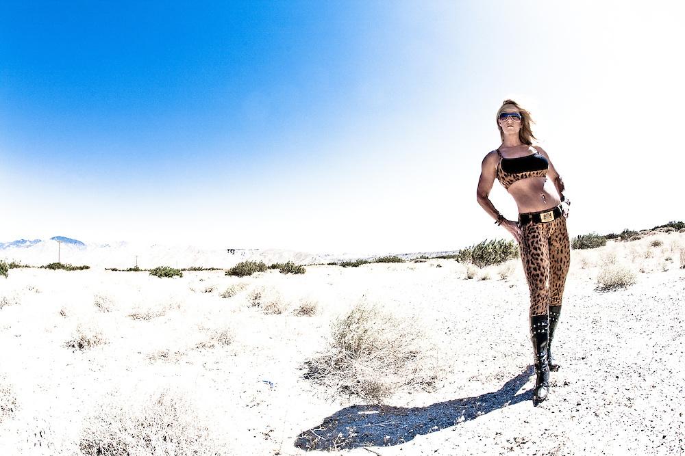 Juliet Banks in the Desert