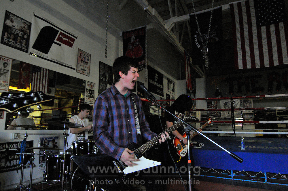 Disruption, from Gilroy, leads off the show. In a well-attended, all-ages music event organized by Salinas' own In Your Face Productions, five area metal bands played their hearts out on Saturday night at the Rock Boxing Gym on East Alisal Street.