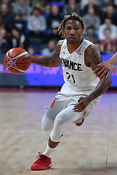 November 24, 2017 - Anvers, Belgique - ANTWERPEN, BELGIUM - NOVEMBER 24 : Andrew ALBICY  of France during the First Round E FIBA World Cup China 2019 Qualifiers match between Belgium and France on November 24, 2017 in Antwerpen, Belgium, 24/11/2017 (Credit Image: © Panoramic via ZUMA Press)