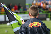 Ball boy jackets during the EFL Sky Bet League 2 match between Forest Green Rovers and Newport County at the New Lawn, Forest Green, United Kingdom on 31 August 2019.