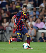 Fussball international Gamper Cup 2013: FC Barcelona - FC Santos