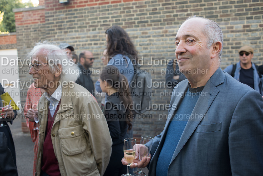 CHRISTO, DAVID JUDA, Opening of Christo and Jeanne-Claude: ,Barrels and the Mastaba 1958 - 2018, London, 21 June 2018