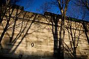Monday December 29th 2008. Paris, France..Voie Georges Pompidou - 1st Arrondissement..