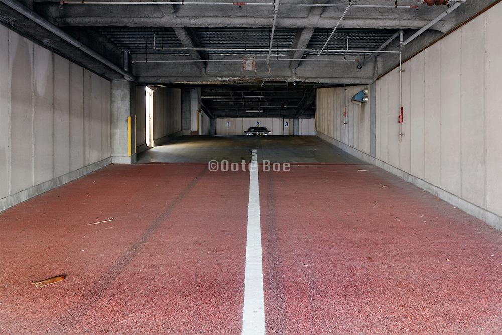 parking garage entrance