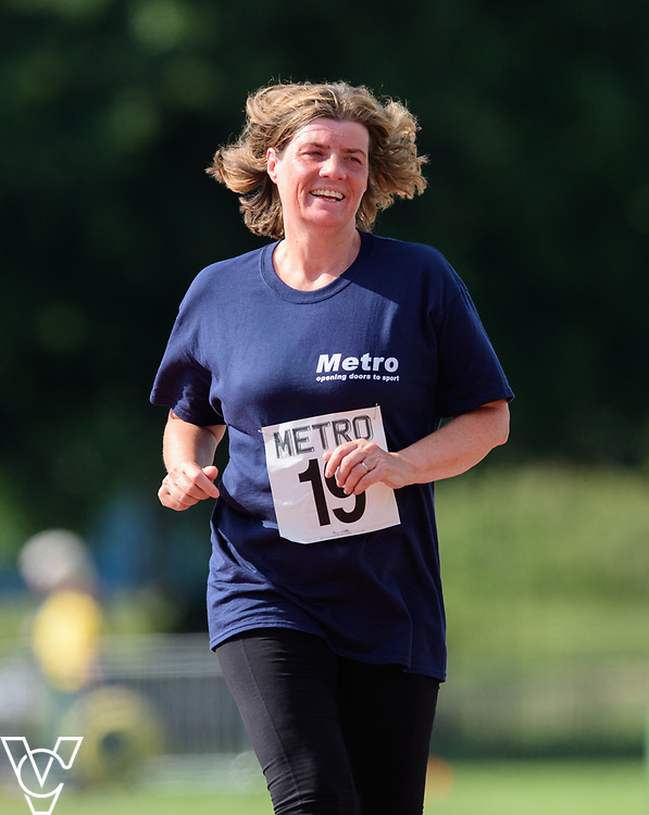Metro Blind Sport's 2017 Athletics Open held at Mile End Stadium.  5000m.  Competitor #19<br /> <br /> Picture: Chris Vaughan Photography for Metro Blind Sport<br /> Date: June 17, 2017