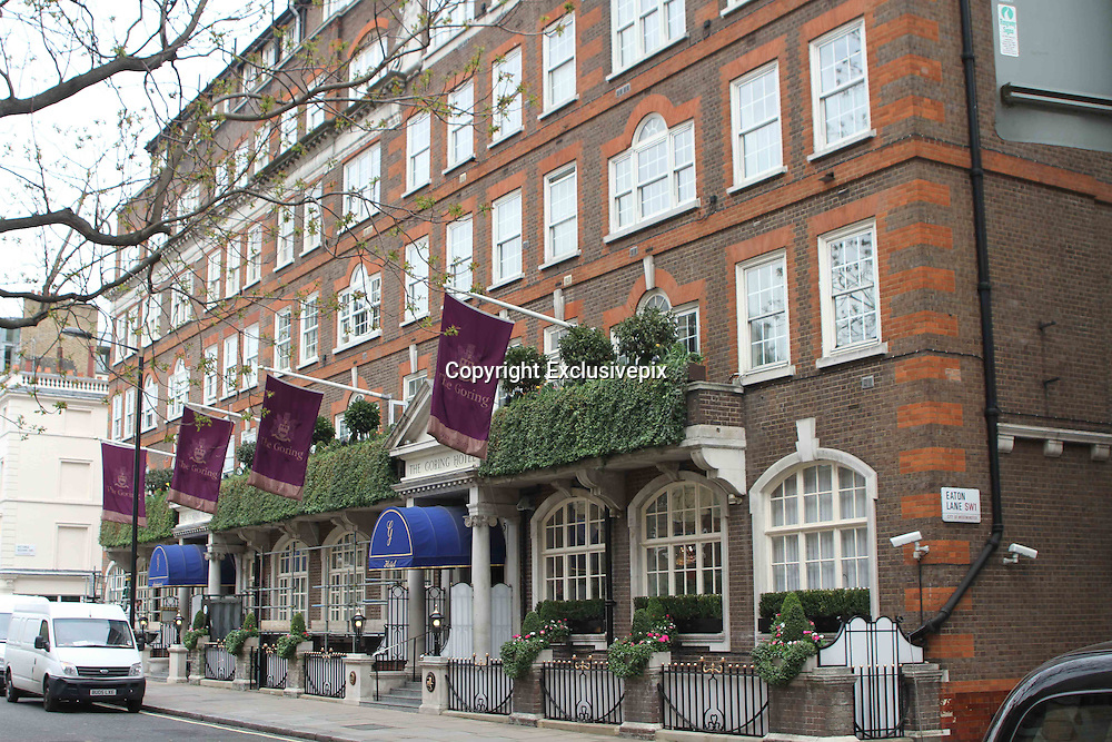 15/04/2011<br /> The Goring Hotel, This is where Kate Middleton will be staying the night before Her marriage to Prince William.<br /> ©Exclusivepix