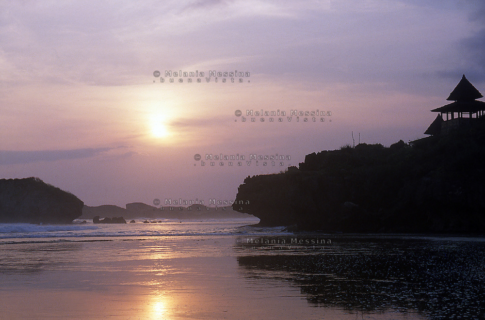 Indonesia, Java island: Baron coast.<br /> Indonesia; Giava: costa di Baron.