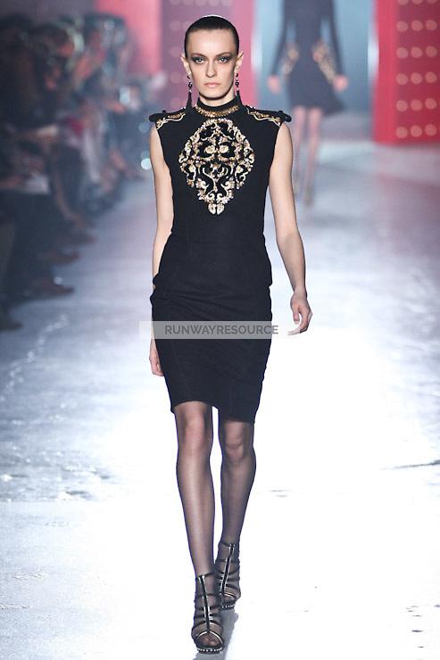 Erjona Ala walks down runway for F2012 Jason Wu's collection in Mercedes Benz fashion week in New York on Feb 10, 2012 NYC