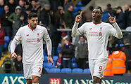 Crystal Palace v Liverpool - Premier League - 06/03/2016