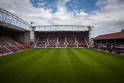 Tynecastle Stadium, home of Heart of Midlothian FC.<br /> ©Michael Schofield.