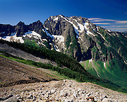 JOHANNESBURG MOUNTAIN FROM BOSTON BASIN, NORTH CASCADES NATIONAL PARK WASHINGTON