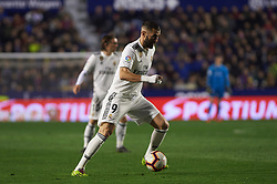 February 24, 2019 - Valencia, Valencia, Spain - Karim Benzema of Real Madrid during the La Liga match between Levante and Real Madrid at Estadio Ciutat de Valencia on February 24, 2019 in Valencia, Spain. (Credit Image: © Maria Jose Segovia/NurPhoto via ZUMA Press)