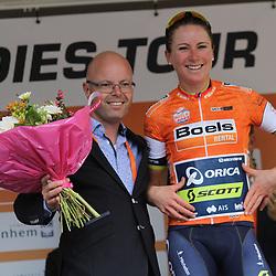 02-09-2017: Wielrennen: Boels Ladies Tour: Vaals  <br />Annemiek van VLeuten still leader