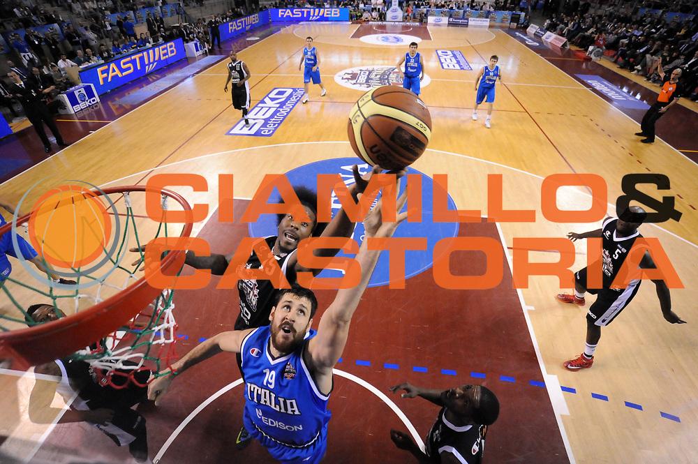 DESCRIZIONE : Ancona Beko All Star Game 2013-14 Beko All Star Team Italia Nazionale Maschile<br /> GIOCATORE : Andrea Zerini Edward Daniel<br /> CATEGORIA : special rimbalzo scelta<br /> SQUADRA : All Star Team Italia Nazionale Maschile<br /> EVENTO : All Star Game 2013-14<br /> GARA : Italia All Star Team<br /> DATA : 13/04/2014<br /> SPORT : Pallacanestro<br /> AUTORE : Agenzia Ciamillo-Castoria/C.De Massis<br /> Galleria : FIP Nazionali 2014<br /> Fotonotizia : Ancona Beko All Star Game 2013-14 Beko All Star Team Italia Nazionale Maschile<br /> Predefinita :