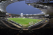 Hull City KC Stadium before the Sky Bet Championship match between Hull City and Nottingham Forest at the KC Stadium, Kingston upon Hull, England on 15 March 2016. Photo by Ian Lyall.