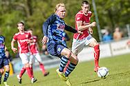 23-04-2016: Voetbal: Sportlust'46 v Zwaluwen: Woerden<br /> <br /> Joey Grootenboer van vv Zwaluwen<br /> <br /> Foto: Gertjan Kooij
