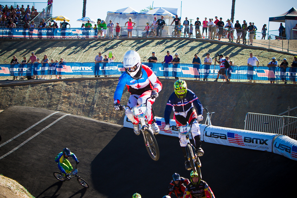 #5 (NYHAUG Tory) CAN the 2013 UCI BMX Supercross World Cup in Chula Vista