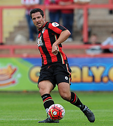Bournemouth's Yann Kermorgant - Photo mandatory by-line: Harry Trump/JMP - Mobile: 07966 386802 - 18/07/15 - SPORT - FOOTBALL - Pre Season Fixture - Exeter City v Bournemouth - St James Park, Exeter, England.