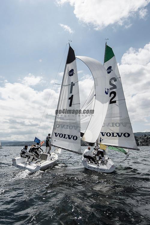 Volvo Match Race Cup 2012 Zurich<br /> 13.5.2012 Zurich<br /> Semifinal &amp; Final Day