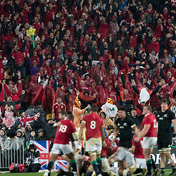 Lions win 24-12 during game 9 of the British and Irish Lions 2017 Tour of New Zealand, the second Test match between  The All Blacks and British and Irish Lions, Westpac Stadium, Wellington, Saturday 1st July 2017<br /> (Photo by Kevin Booth Steve Haag Sports)<br /> <br /> Images for social media must have consent from Steve Haag
