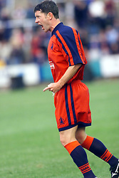 Falkirk's Kevin McAllister during a Falkirk v Kilmarnock game in July 2000. .