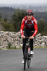 December 15, 2017 - Majorca, SPAIN - Belgian Tiesj Benoot of Lotto Soudal pictured in action during a press day during Lotto-Soudal cycling team stage in Mallorca, Spain, ahead of the new cycling season, Friday 15 December 2017. BELGA PHOTO DIRK WAEM (Credit Image: © Dirk Waem/Belga via ZUMA Press)