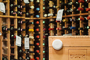 FYI Sensor Device in wine cellar to monitor temperature change