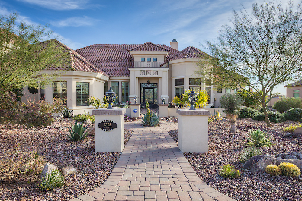 Luxury home photography in Mesa, Arizona