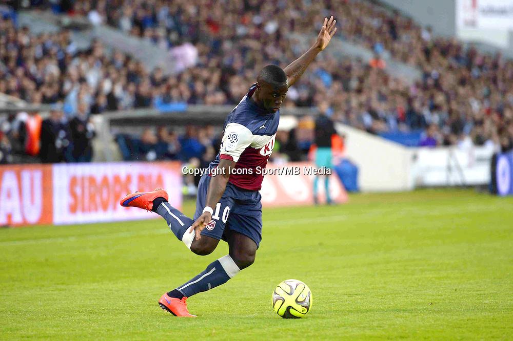 Henri SAIVET - 25.04.2015 - Bordeaux / Metz - 34eme journee de Ligue 1<br />Photo : Caroline Blumberg / Icon Sport