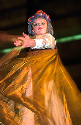 IRELAND DUBLIN 17MAR00 - A fairy on stilts performs on stage the night before the St. Patrick's Day celebrations in Dublin...jre/Photo by Jiri Rezac..© Jiri Rezac 2000..Contact: +44 (0) 7050 110 417.Mobile:  +44 (0) 7801 337 683.Office:  +44 (0) 20 8968 9635..Email:   jiri@jirirezac.com.Web:     www.jirirezac.com..© All images Jiri Rezac 2000 - All rights reserved.