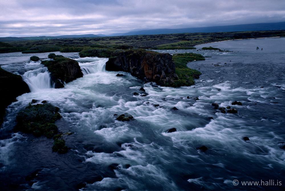 Æðarfossar í Laxá í Aðaldal / The waterfall, Aedarfossar in Adaldalur