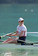 Aiguebelette, FRANCE.  GBR LW1X Silver Medallist, Ruth WALZCAK, Sunday, Finals at the  2014 FISA World Cup II, 11:01:41  Sunday  22/06/2014. [Mandatory Credit; Peter Spurrier/Intersport-images]
