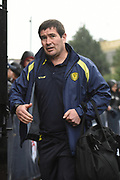 Burton Albion manager Nigel Clough arrives at Craven Cottage prior to the EFL Sky Bet Championship match between Fulham and Burton Albion at Craven Cottage, London, England on 20 January 2018. Photo by Richard Holmes.