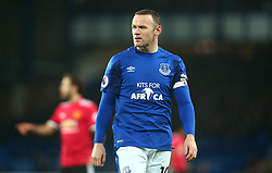 Wayne Rooney of Everton - Mandatory by-line: Robbie Stephenson/JMP - 01/01/2018 - FOOTBALL - Goodison Park - Liverpool, England - Everton v Manchester United - Premier League