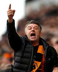 Wolverhampton Wanderers fans - Mandatory by-line: Robbie Stephenson/JMP - 15/04/2018 - FOOTBALL - Molineux - Wolverhampton, England - Wolverhampton Wanderers v Birmingham City - Sky Bet Championship