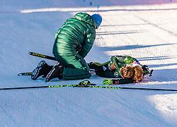 24.01.2019, Suedtirol Arena, Antholz, ITA, IBU Weltcup Biathlon, Sprint, Damen, im Bild Laura Dahlmeier (GER) // Laura Dahlmeier of Germany during women' s Sprint of BMW IBU Biathlon World Cup at the Suedtirol Arena in Antholz, Italy on 2019/01/24. EXPA Pictures © 2019, PhotoCredit: EXPA/ Stefan Adelsberger