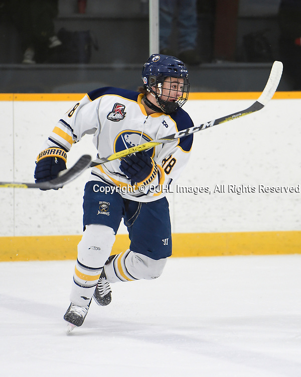 TRENTON, ON - JAN 25,  2017: Ontario Junior Hockey League game between North York and Buffalo at the 2017 Winter Showcase , Matt Jakubowski #88 of the Buffalo Jr. Sabres pursues the play during the first period.<br /> (Photo by Andy Corneau / OJHL Images)
