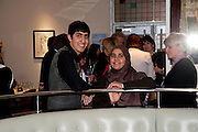 ANIQ IMRAN, Literary charity First Story fundraising dinner. Cafe Anglais. London. 10 May 2010. *** Local Caption *** -DO NOT ARCHIVE-© Copyright Photograph by Dafydd Jones. 248 Clapham Rd. London SW9 0PZ. Tel 0207 820 0771. www.dafjones.com.<br /> ANIQ IMRAN, Literary charity First Story fundraising dinner. Cafe Anglais. London. 10 May 2010.