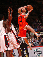 Eric Devendorf during the 2K Sports Classic held at Madison Square Garden in New York, NY.(Mandatory Credit: Delane B. Rouse/ContrastPhotography.com)
