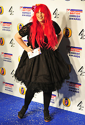 © Licensed to London News Pictures. 16/12/2011. London, England. Jane Goldman attends the Channel 4 British Comedy Awards  in Wembley London .  Photo credit : ALAN ROXBOROUGH/LNP