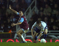 Photo: Olly Greenwood.<br />West Ham United v Brighton & Hove Albion. The FA Cup. 06/01/2007. Brighton's Dean Hammond and West Ham<br />'s Mark Noble