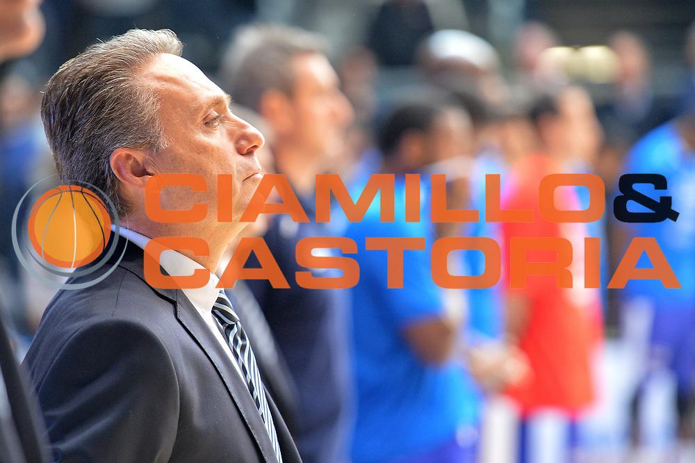 DESCRIZIONE : Cant&ugrave; Lega A 2014-15 Acqua Vitasnella Cant&ugrave; vs Enel Brindisi<br /> GIOCATORE : Piero Bucchi<br /> CATEGORIA : Inno Nazionale Pre Game<br /> SQUADRA : Enel Brindisi<br /> EVENTO : Campionato Lega A 2014-2015 GARA : Acqua Vitasnella Cant&ugrave; vs Enel Brindisi<br /> DATA : 29/11/2014 <br /> SPORT : Pallacanestro <br /> AUTORE : Agenzia Ciamillo-Castoria/I.Mancini<br /> Galleria : Lega Basket A 2014-2015 <br /> Fotonotizia : Cant&ugrave;<br /> Lega A 2014-15 Acqua Vitasnella Cant&ugrave; vs Enel Brindisi<br /> Predefinita :