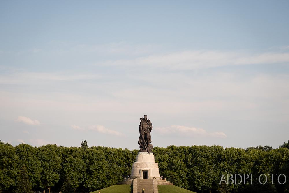 Soviet War Memorial (Tiergarten) Berlin, Germany, Europe