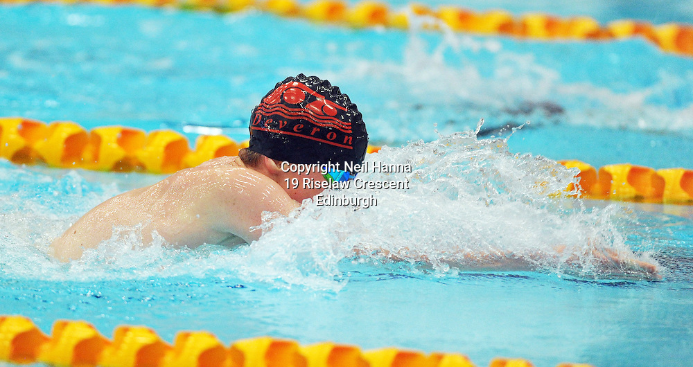Royal Commonwealth Pool, Edinburgh<br /> Scottish Summer Meet - Sunday 26th July 2015-Day 3 Sunday Finals<br /> <br /> Event 311 Boys 15 200m Breaststroke<br /> <br /> Gregor Barnett<br /> <br /> Neil Hanna Photography<br /> www.neilhannaphotography.co.uk<br /> 07702 246823