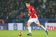 Ander Herrera Midfielder of Manchester United during the Premier League match between Leicester City and Manchester United at the King Power Stadium, Leicester, England on 5 February 2017. Photo by Phil Duncan.